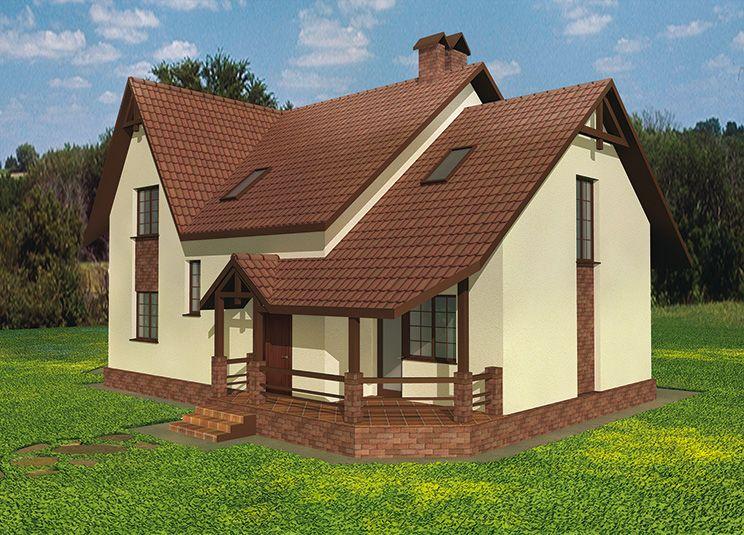 Фасады небольших домов фото