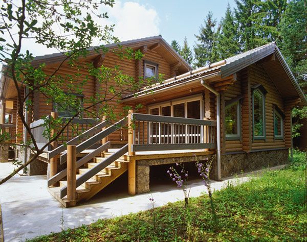Фотогалерея деревянных домов, фото деревянной бани из